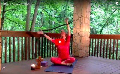 CLASS:  Saturday Gentle Yoga, 6.13.2020