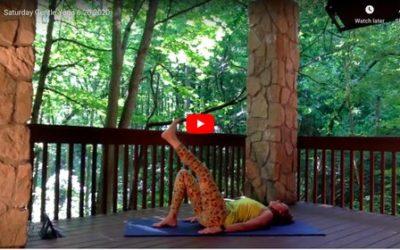CLASS:  Saturday Gentle Yoga, 6.20.2020