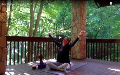 CLASS:  Saturday Gentle Yoga, 8.08.2020
