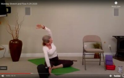 CLASS:  Monday Stretch and Flow , 9.28.2020