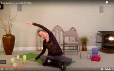 CLASS:  Saturday Gentle Yoga , 10.03.2020