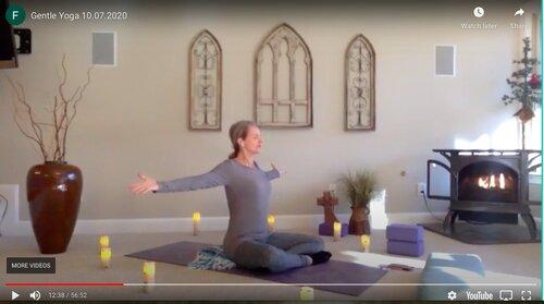 CLASS:  Saturday Gentle Yoga , 11.07.2020
