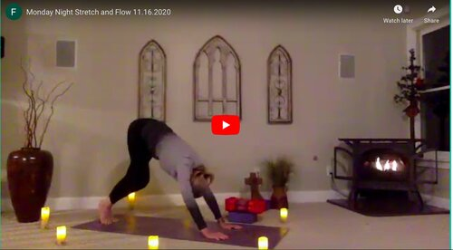 CLASS:  Monday Stretch and Flow, 11.16.2020