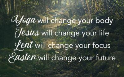 Lenten Yoga Series, Week Five: Contentment